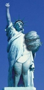 Fat Statue of liberty